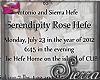 ;) Serendipity Rose Hefe