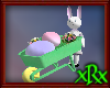 Easter Bunny Wheelbarrow