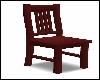 Mahogany Straight Chair