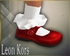 c Christmas Red Shoes