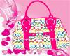 *M* Coach purse pink2