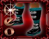 Geo Draco Boots teal