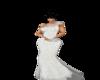 vestido de gala blanco