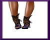 (M) Purple Lace Shoes