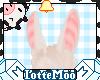 Long Blonde Bunny Ears