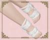 A: White foot wraps