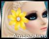 AM:: Yellow Hair Flower