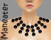! bLACK PEARL necklace