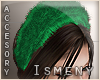 [Is] Fur Green Headband
