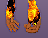 fire gloves male