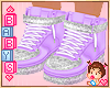 ! Kids Purple Shoes *