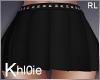 K blk lilly skirt RL