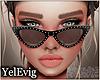[Y] Emma black sunglass