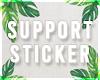 s| 1M Support Sticker