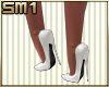 SM1 7in Heels White
