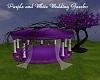 Purple n White Gazebo