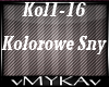 KANGAROZ-KOLOROWE SNY