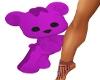 Purple Teddy Bear Pet
