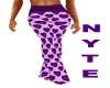 Purple Heart PJ Pants