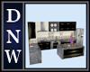 DNW Modern Black Kitchen