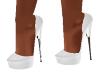 Baby White Heels