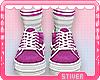 Kids Purple Shoe