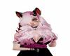 pink smoke hair