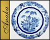 Blue Willow Plates Cups