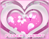 Flowers Vector Heart
