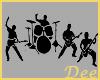 Rock Band Silouette