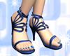 Lacing Sandals BLUE