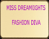 DL Fashion Diva Trophy