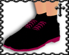 * Pink/Black Stepperz