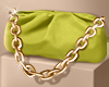 CHAIN POUCH LIME