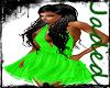 {JR} Green Spring Dress