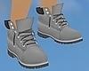 Grey Work Boots