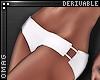 0 | Strap Bikini Bottoms