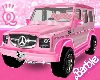 Q.  Barbie Pink Mercedes