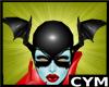 Cym Red Bleez Head Wings
