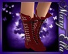 Red Spike boots