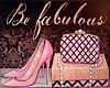 Be Fabulouse Poster