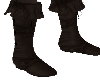 (V) Leather boots