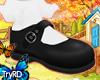 🦋 Kids black shoes