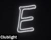 Letter E | Neon
