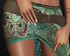 Boho mandala wrap skirt