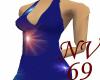 Cosmic Halter Dress
