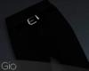 [G] Black Suit Pants