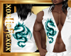 [L] White DRAGON Vest M