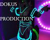 Neon Blue Body Tubes