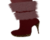 Bella Burgundy Boots